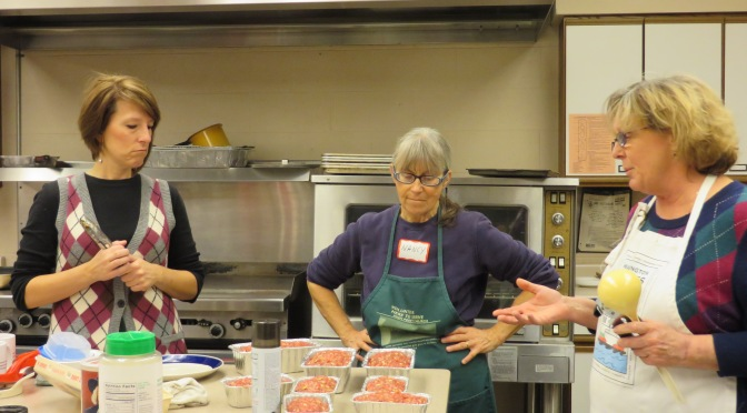 COOK-A-THON RECAP:  OH, THE JOYS OF COOKING!