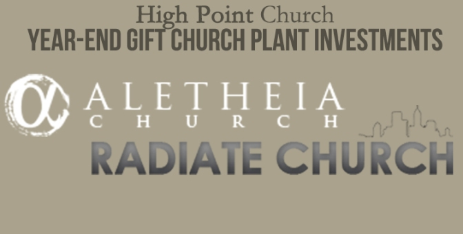 Why is church planting so important for High Point Church?