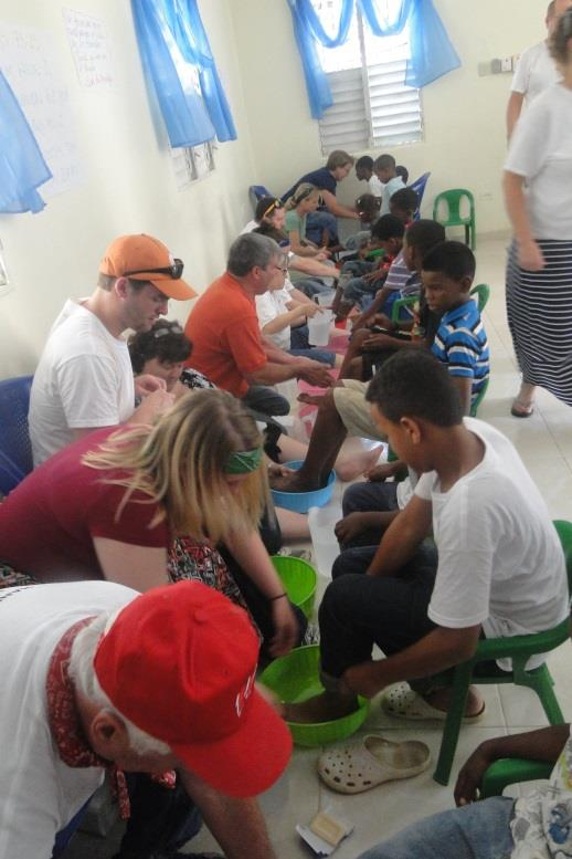 Day 5, blog @ house-build, foot-washing2