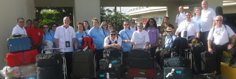 Day One, blog @ our arrival in Santo Domingo