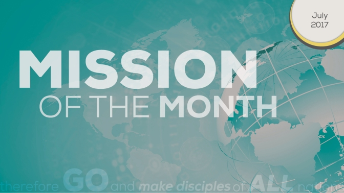 Mission of the Month: Christmas in July