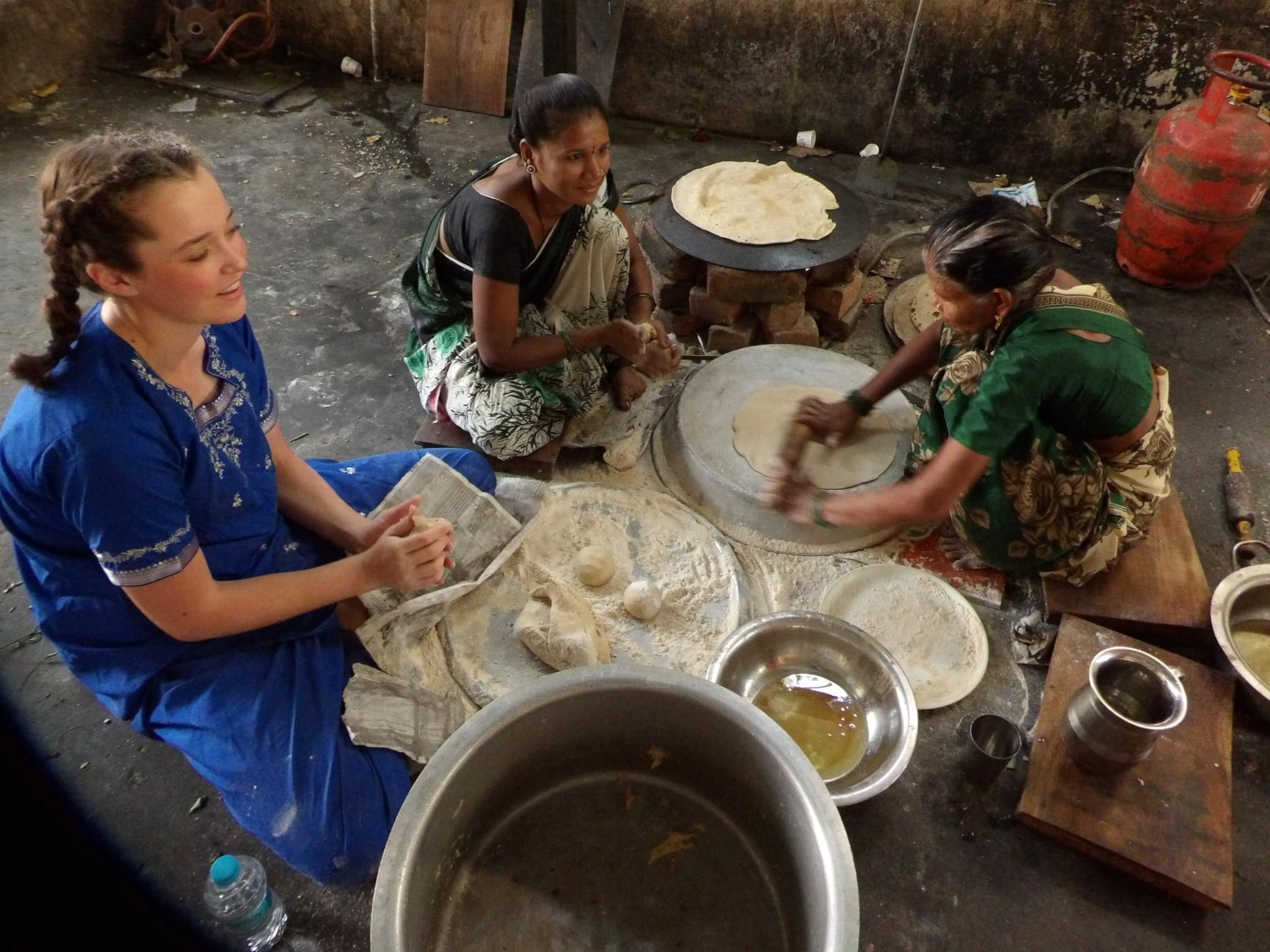 Abby baking in Nagpur.jpg