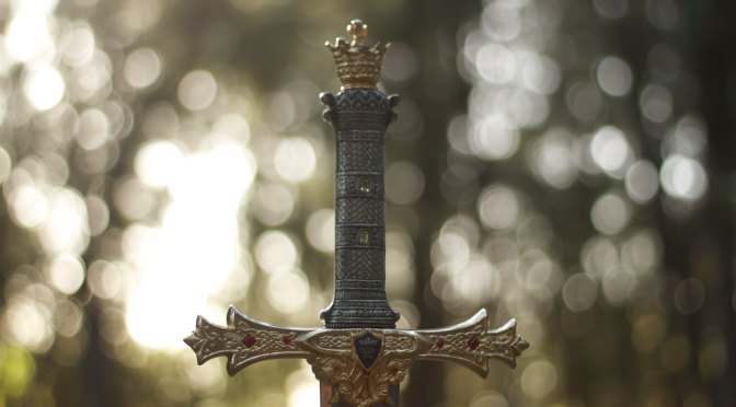 Why a sword if we are to love our enemies?